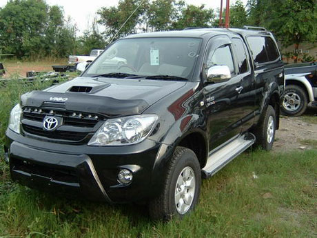 toyota vigo with -Front Bumper Guard