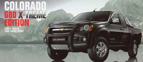 2009 chevy colorado x-treme limited edition thailand available at Soni Motors Thailand