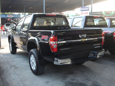 Chevy Colorado 2008 rear - Get your Chevy now at Soni Motors Thailand and Jim 4x4 Thailand