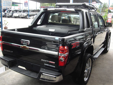 Chevy Colorado 2008 accessorized rear view - Get your Chevy now at Soni Motors Thailand and Jim 4x4 Thailand