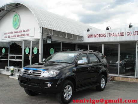 2009 Toyota Fortuner in Soni showroom
