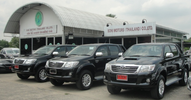 2012 Toyota Hilux Vigo available now at Soni Motors Thailand