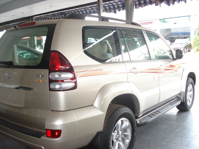 Soni is Asia's largest exporter of Left Hand Drive Prado Vehicles