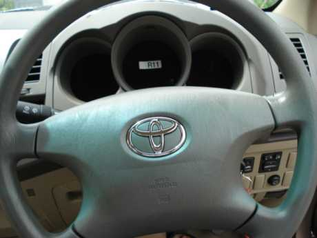 Toyota Hilux Vigo Smart Cab 2009 steering at Soni Motors Thailand
